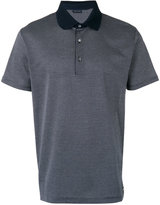 Paul & Shark contrast collar polo shirt - men - Cotton - S