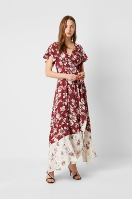 French Connection Aletta Crepe Floral Maxi Dress