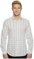 Perry Ellis Confetti Printed Woven Shirt Men's Clothing