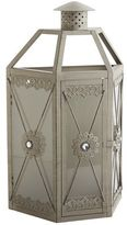 Pier 1 Imports Gray Jeweled Lantern Wall Sconce