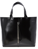 Kara Large Polished Panel Tote