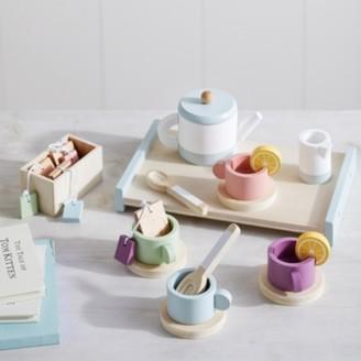 The White Company Wooden Tea Set, Multi, One Size