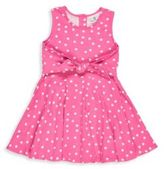 Florence Eiseman Toddler's & Little Girl's Polka Dot Self Tie Dress