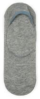 Topman Mens Grey Gray Marl No Show Socks with Gel Pads
