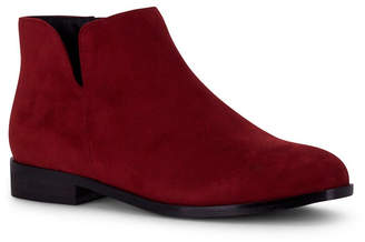 Wanted Dipper Ankle Bootie with V-Cut Detail Women Shoes
