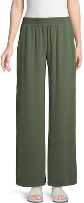 Supply & Demand Side-Slit Wide-Leg Pants