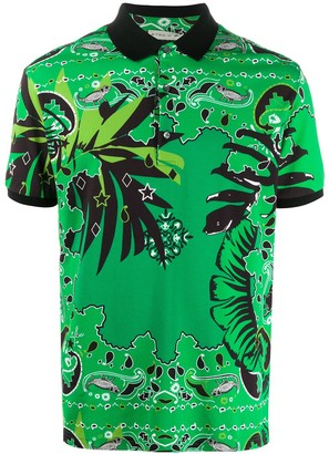 Etro Botanical Sprint Polo Shirt
