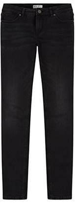 H.I.S Women's Monroe Skinny Jeans, (Advanced Black Wash 9942), 27W x 34L