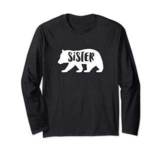 Sister Bear T-shirt Matching Sibling Family Bear Shirts