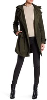 BCBGeneration Hooded Trench Coat