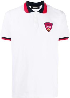 DSQUARED2 Logo Crest Polo Shirt