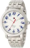 Tommy Hilfiger Women's Classic Analog Enamel Bezel Watch 1781216