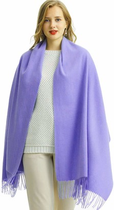 Maruyama Wool Stole Large Scarf Shawl Wrap Large and gorgeous Warm and comfortable Natural 100% Wool