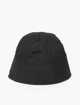 Rick Owens Black Nylon Bucket Hat