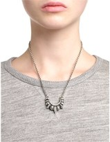 Pamela Love Silver Small Tribal Necklace