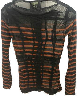 Jean Paul Gaultier Black Synthetic Tops