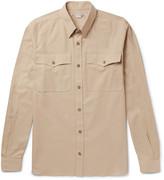 Stella McCartney Button-Down Collar Cotton-Piqué Shirt