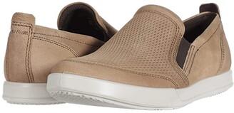Ecco Collin 2.0 Casual Slip-On (Camel) Men's Shoes