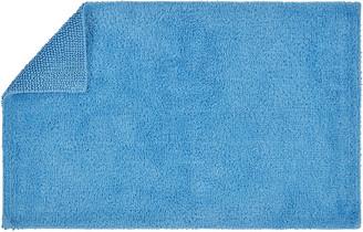 Christy Reversible Rug Bath Mat - Cadet Blue