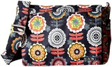 Ju-Ju-Be Better Be Messenger Diaper Bag - Dancing Dahlias