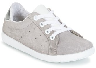 Citrouille et Compagnie HINETTE girls's Shoes (Trainers) in Grey