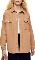 Topshop Corduroy Overshirt Jacket