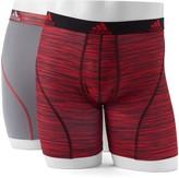 adidas Men's Climalite Sport 2-Pack Boxer Briefs