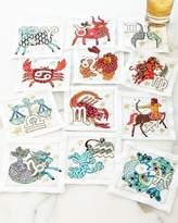 Kim Seybert Zodiac Cocktail Napkins, 12-Piece Set