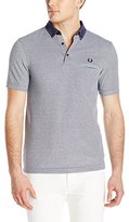 Fred Perry Men's Woven Oxford Collar Shirt