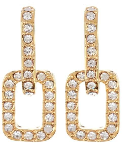 d642a373d Vince Camuto Pave Earrings - ShopStyle