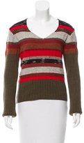 Dries Van Noten Patchwork Wool Sweater