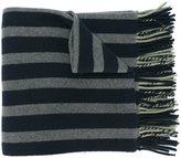 Odeeh striped tassel scarf