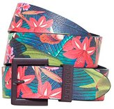 Desigual Women's CINT_BASIC Flores Tropical Fly Belt
