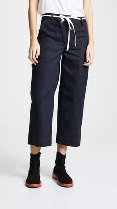 Monse Wide Leg Cargo Pants