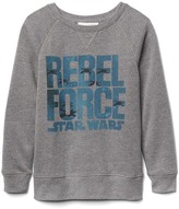 Gap GapKids + Junk Food Star Wars sweatshirt
