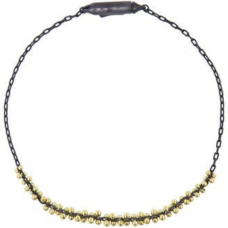 Ten Thousand Things Signature Yellow Gold Beaded Center Cluster Bracelet