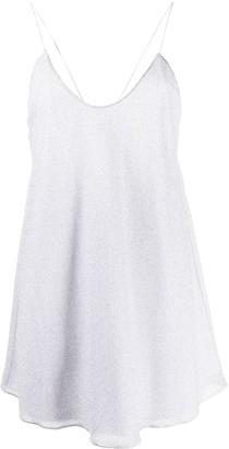 Oseree Sleeveless Glitter Dress