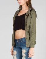Ashley Womens Twill Anorak Jacket