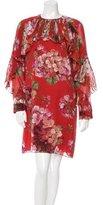 Gucci Fall 2015 Silk Dress