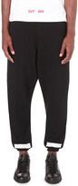 Off-White Stripe print cotton-jersey jogging bottoms