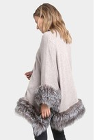 Christopher Fischer Libby Fur Poncho.