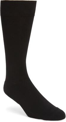 Nordstrom CoolMax(R) Solid Dress Socks