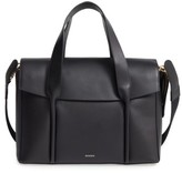 Skagen Beatrix Leather Satchel - Black