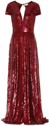 Temperley London Ray sequinned gown