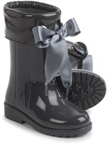 Igor Campera Charol Gray Rubber Rain Boots - Waterproof (For Little and Big Girls)