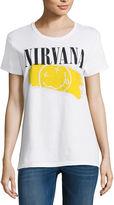 New World Nirvana Graphic T-Shirt- Juniors