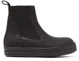 Rick Owens Bozo Thick-sole Leather Chelsea Boots - Womens - Black