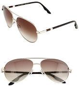B Brian Atwood 58mm Aviator Sunglasses