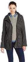 Celebrity Pink Juniors' Cotton Twill Anorak Jacket