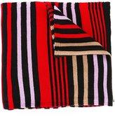 Sonia Rykiel striped colour block scarf